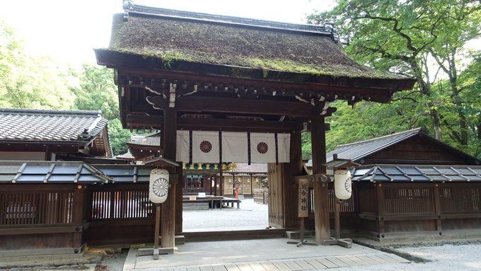 河合神社 中門