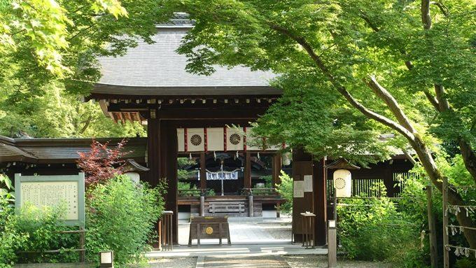 梨木神社 中門