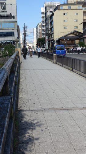 三条大橋の擬宝珠 三条大橋全景No1