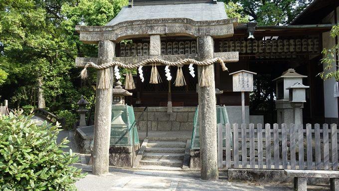 厳島神社 唐破風鳥居No1