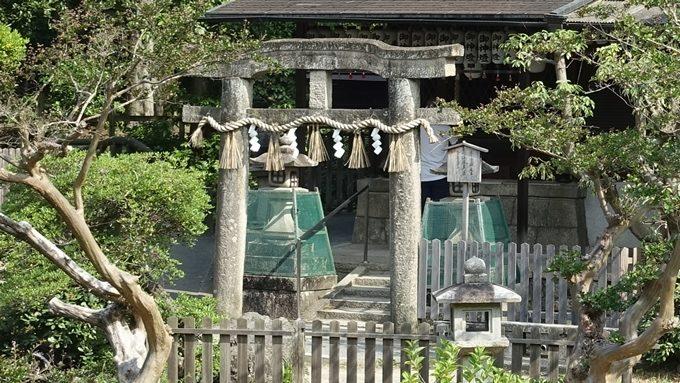 厳島神社 唐破風鳥居No3
