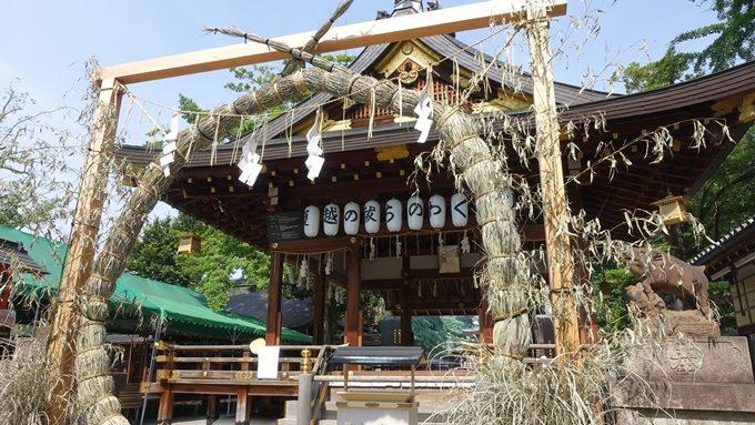 護王神社 茅の輪くぐり