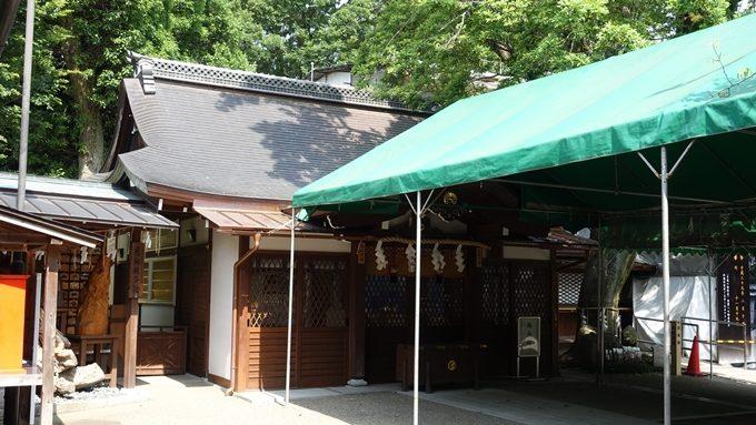 護王神社 仮本殿