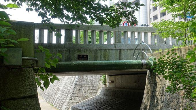 一条戻橋 北側側面