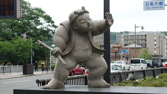 弁慶 石像