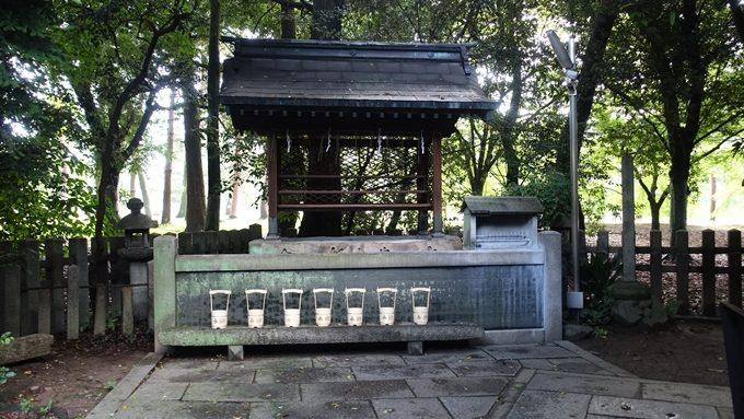 白雲神社 手水鉢