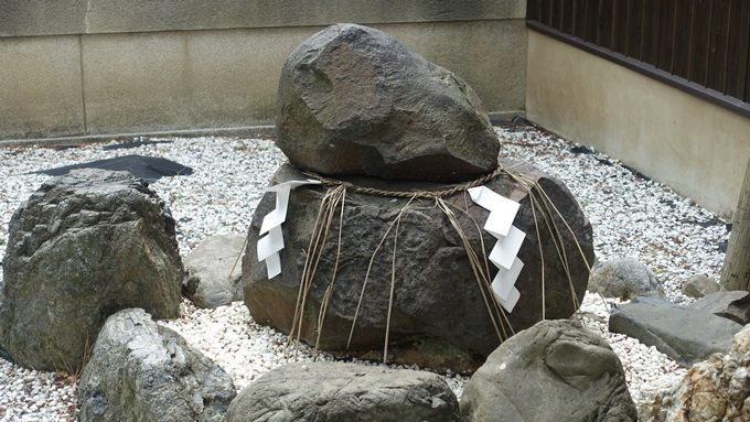 幸神社 猿田彦神石