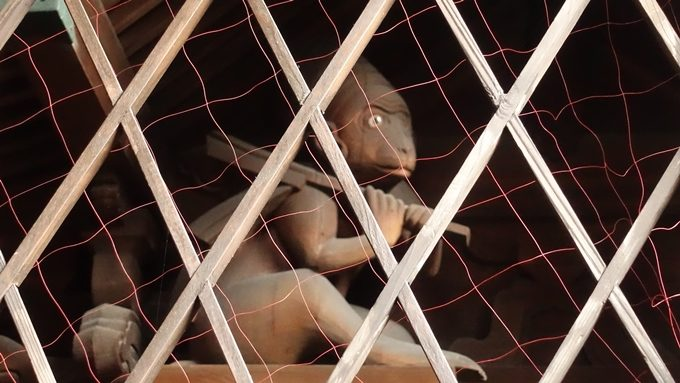 幸神社 猿No2