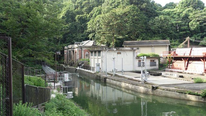 旧九条山浄水場原水ポンプ室 No1