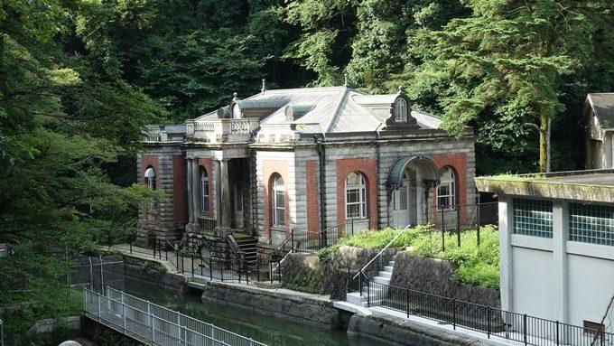 旧九条山浄水場原水ポンプ室 No2