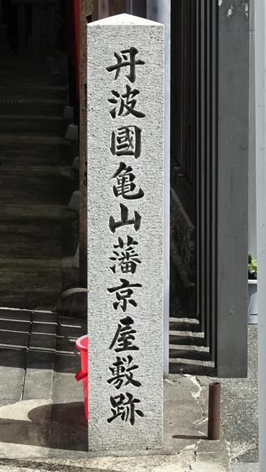 亀山稲荷 亀山藩京屋敷跡