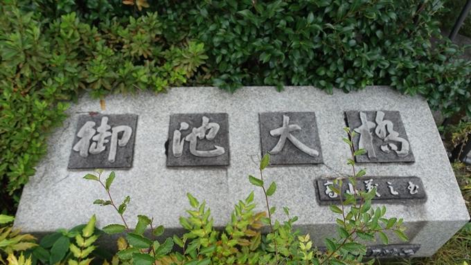 夏目漱石の句碑 No2