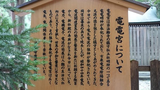 電電宮 駒札No2