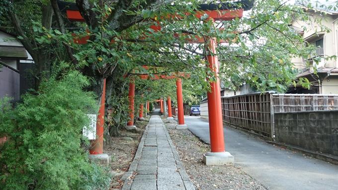 竹中稲荷神社 鳥居No1