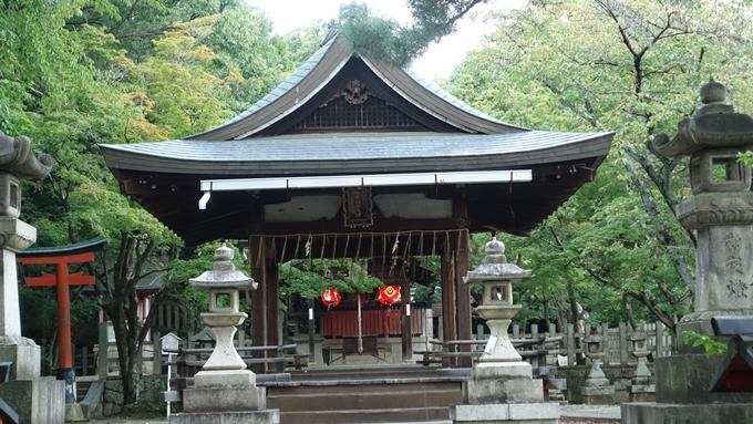 竹中稲荷神社 拝殿前No2