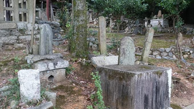 竹劔稲荷神社 石柱No2