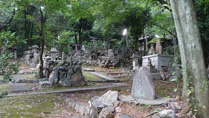 竹中稲荷神社 石柱No4