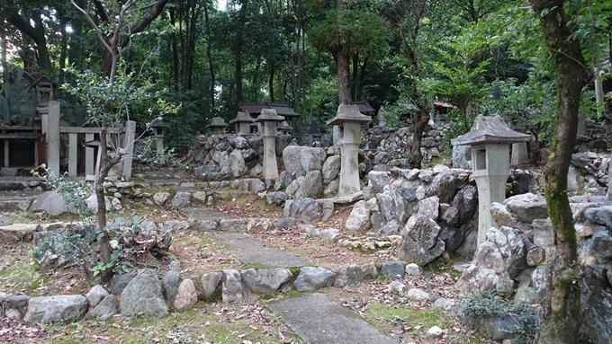 竹中稲荷神社 石柱No6