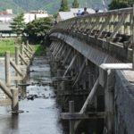 嵐山公園・渡月橋・大井神社 灯台下暗し?