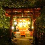 神泉苑夜景 夜は別世界