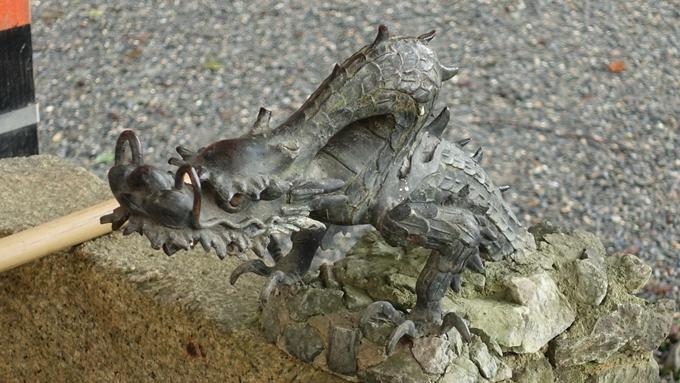 櫟谷宗像神社 竜