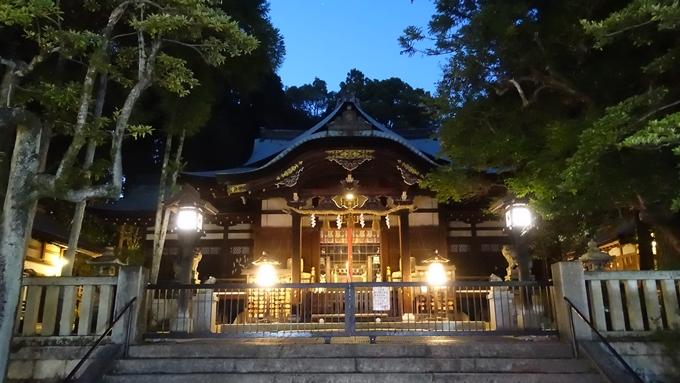 岡崎神社夜景 本殿No1