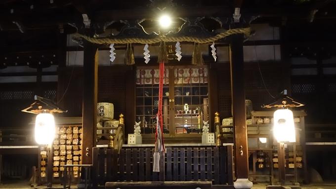岡崎神社夜景 本殿No3