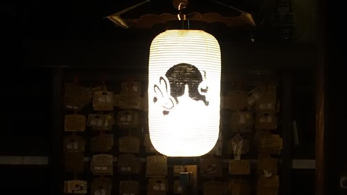 岡崎神社夜景 提灯No4