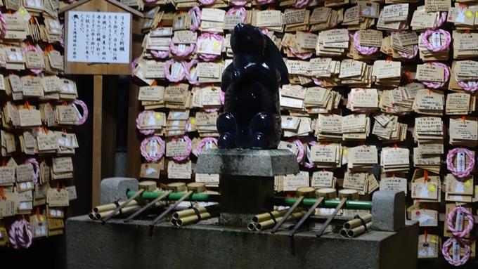 岡崎神社夜景 絵馬堂