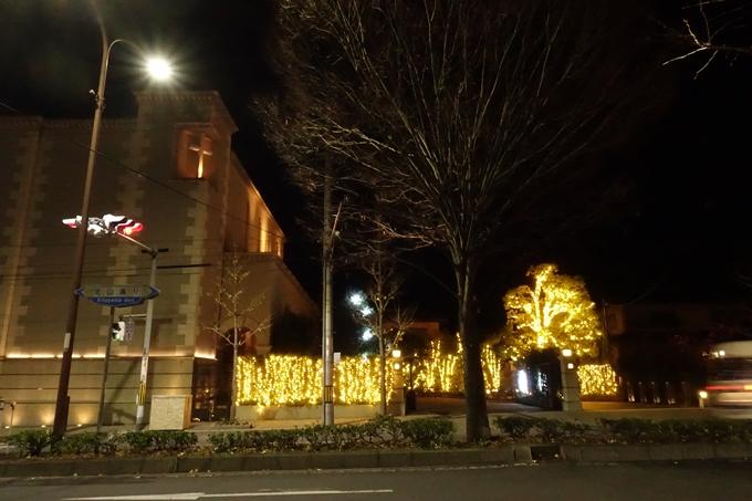 北山ウェディングストリート クリスマスイルミネーション No15