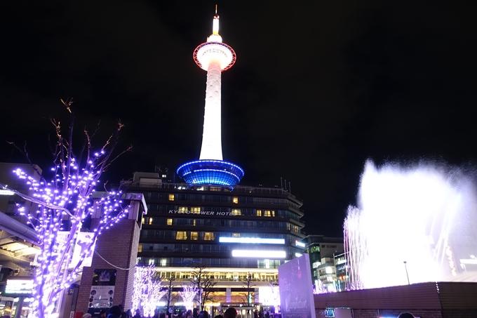 京都駅ビル_クリスマスイルミネーション No7