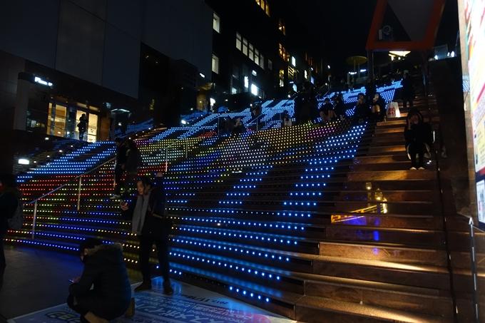 京都駅ビル_クリスマスイルミネーション No15