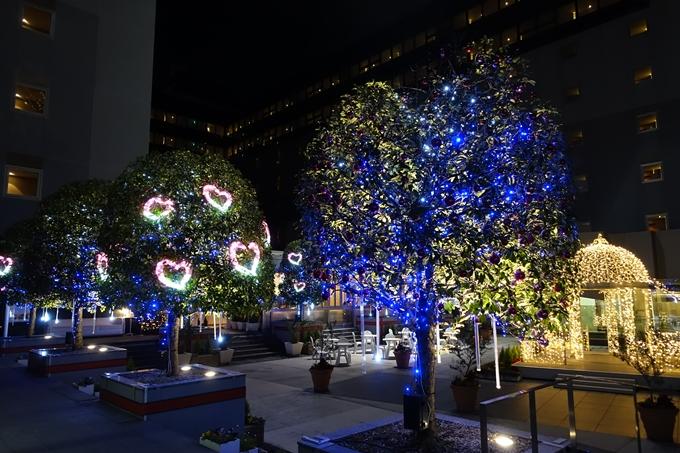 京都駅ビル_クリスマスイルミネーション No26