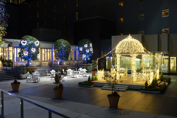 京都駅ビル_クリスマスイルミネーション No27