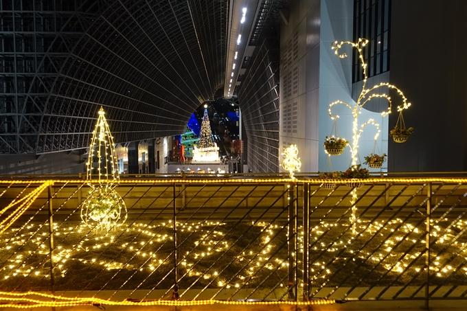 京都駅ビル_クリスマスイルミネーション No33