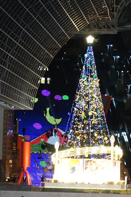 京都駅ビル_クリスマスイルミネーション No35