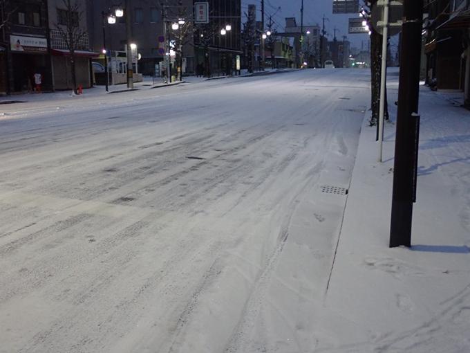 京都市内積雪 No3