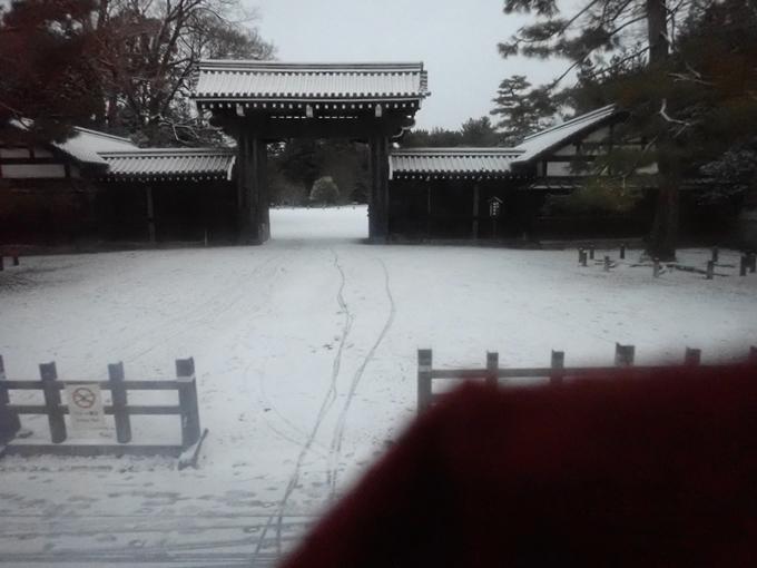 京都市内積雪 No5