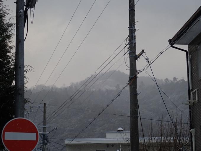 京都市内積雪 No8