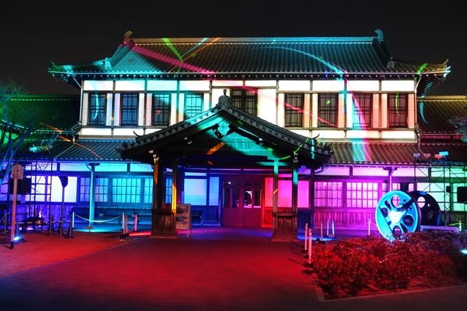 京都鉄道博物館_プロジェクションマッピング No6