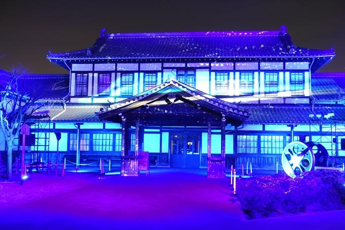 京都鉄道博物館_プロジェクションマッピング No13