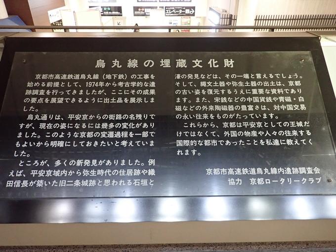 烏丸御池遺蹟・平安京跡 No6