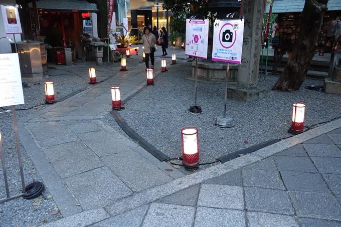 六角堂ライトアップ2018 No4