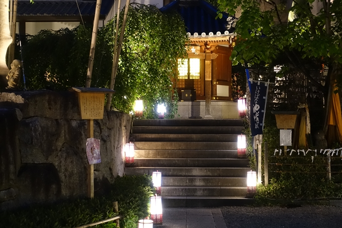 六角堂ライトアップ2018 No27