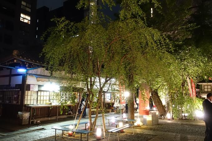 六角堂ライトアップ2018 No33