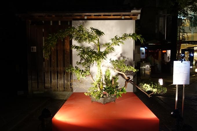 六角堂ライトアップ2018 No38