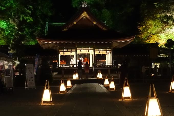 京都紅葉速報2018 その6 出雲神社_ライトアップ No8