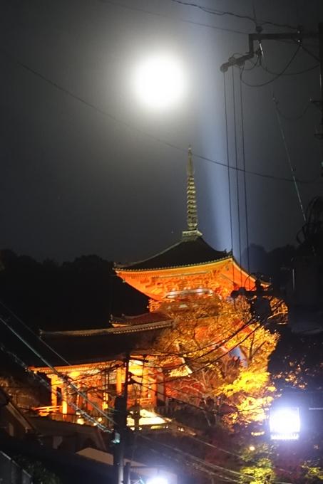京都紅葉速報2018 その24 清水寺_ライトアップ No2