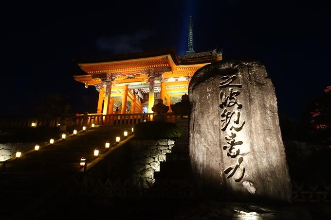 京都紅葉速報2018 その24 清水寺_ライトアップ No10