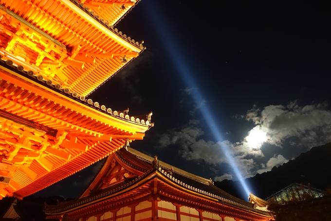 京都紅葉速報2018 その24 清水寺_ライトアップ No17